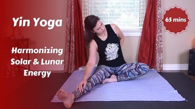 Yin Yoga | Harmonizing Solar & Lunar ...