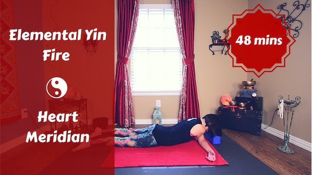 Elemental Yin Yoga Fire | Heart Meridian | Summer