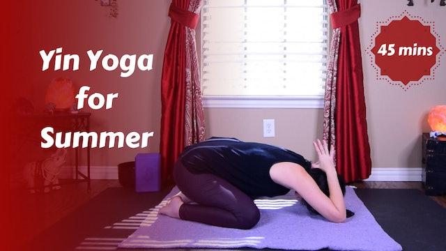 Yin Yoga for Summer | Energy Peak