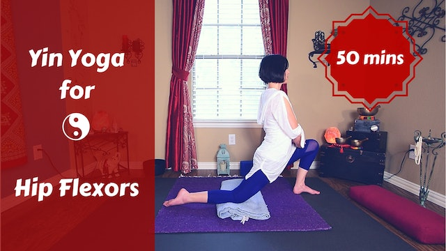 Yin Yoga for Psoas | Yin Yoga for Hip Flexors