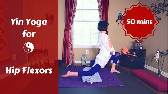 Yin Yoga for Psoas | Yin Yoga for Hip...