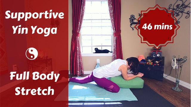 Supportive Full Body Yin Yoga for Deep Release