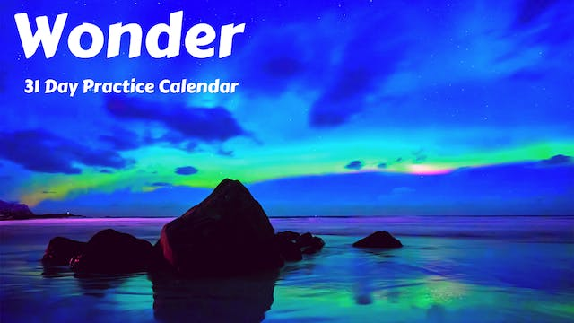 WONDER | 31 Day Practice Calendar | May '21