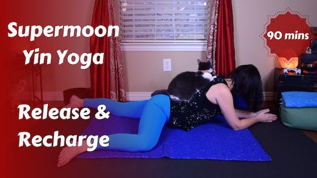 Super Moon Yin Yoga | Release & Recharge