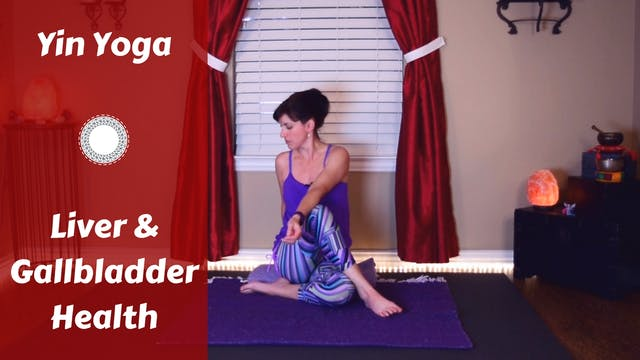 Yin Yoga for Liver & Gallbladder Health