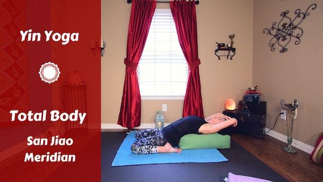 Yin Yoga Full Meridian Balancing | San Jiao Meridian