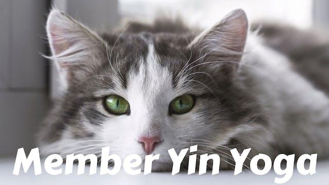Members Only Yin Yoga