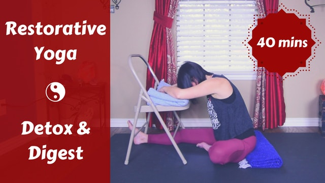 Restorative Yoga for Season Change | Detox & Digest