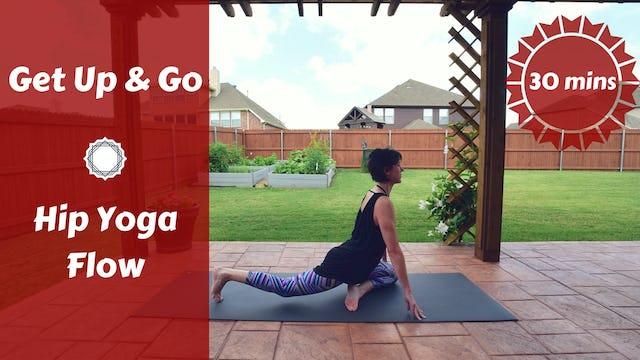 Get Up & Go Hip Yoga Flow