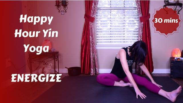 Happy Hour Yin Yoga | ENERGIZE