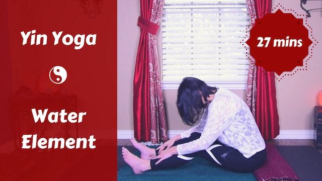 Elemental Water Yin Yoga Snack