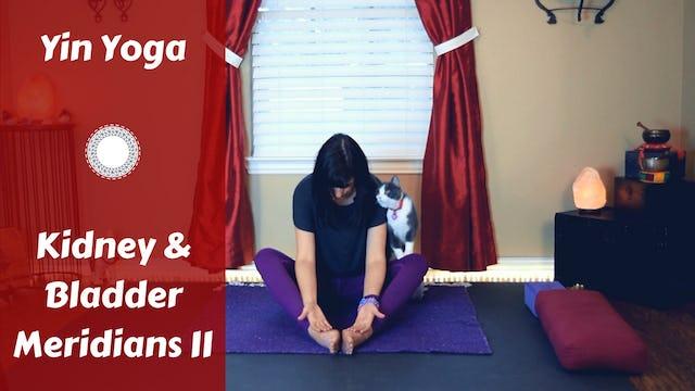 Yin Yoga for Kidney/Bladder Meridians