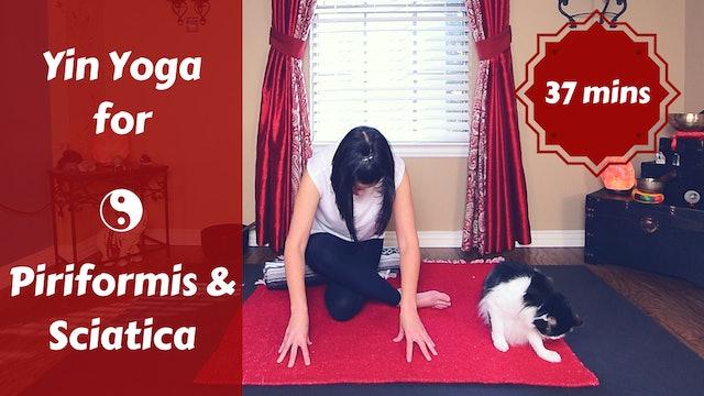 Yin Yoga for Piriformis & Sciatica Pain | Yin for Glutes