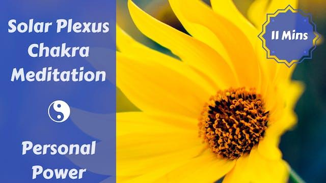 Solar Plexus Chakra Meditation | Stok...