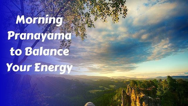 Morning Pranayama Practice | Ujjayi & Diaphragmatic Breathing