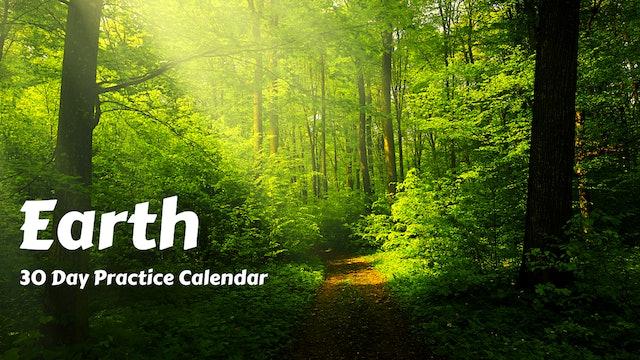 EARTH | 30 Day Practice Calendar | April '21