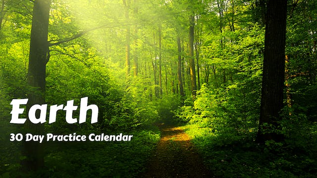 EARTH | 30 Day Practice Calendar | April '21
