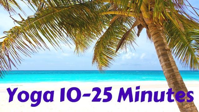 Yoga 10-25 Minutes