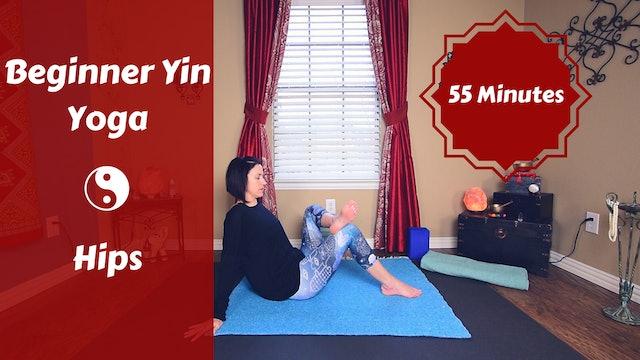 Beginner Yin Yoga for Hips