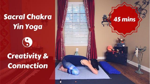 Sacral Chakra Yin Yoga | Creativity & Connection