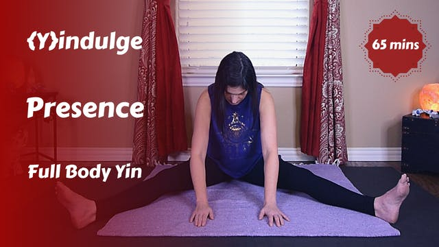 {Y}indulge Presence | Being vs. Doing