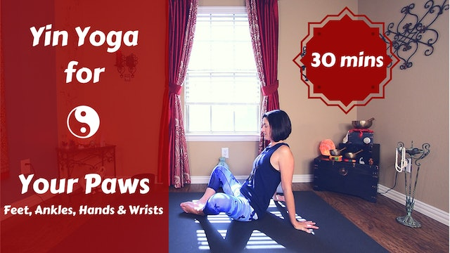Yin Yoga for Feet, Ankles, Hands & Wrists 👣 | Yoga for Your Paws 🖐️