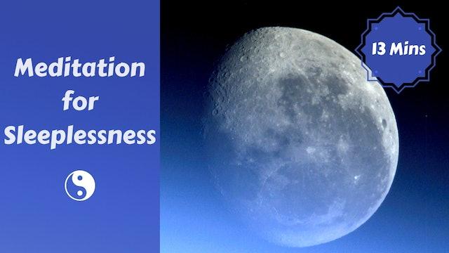 Meditation for Sleeplessness   Get Some Rest