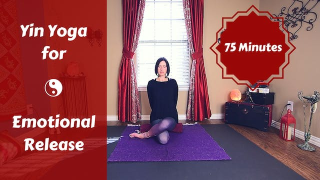 Yin Yoga for Deep Emotional Release