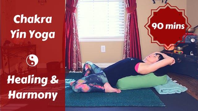 Chakra Yin Yoga for Healing & Balance