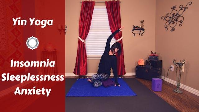 Yin Yoga for Insomnia, Sleeplessness ...