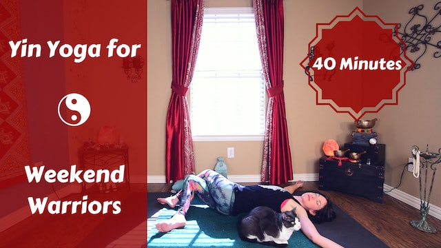 Yin for Weekend Warriors | Sore Muscle Relief