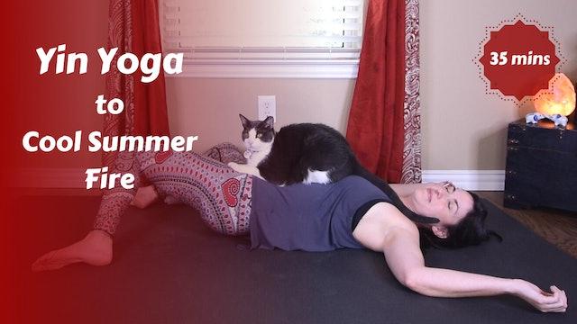 Yin Yoga to Cool Summer Fire