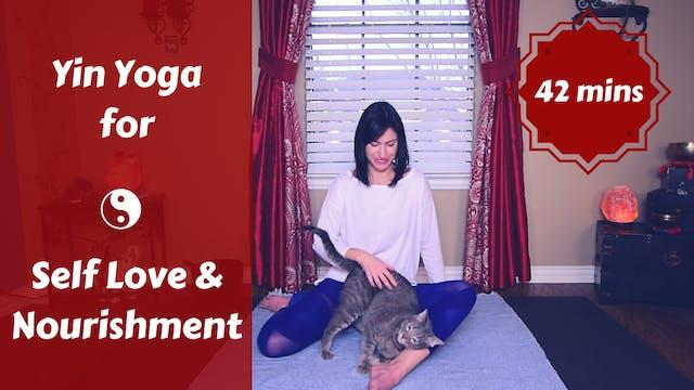 Yin Yoga for Self Love | Nourish Your...