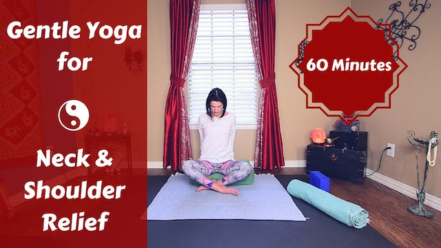 Gentle Restorative Yoga for Neck  & S...