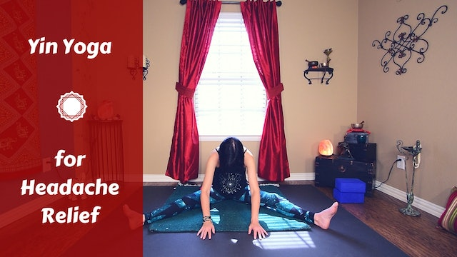 Yin Yoga for Headaches {Prevention & Relief}