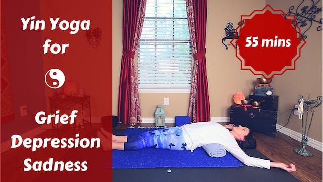 Yin Yoga 4 Grief, Depression, Sadness...
