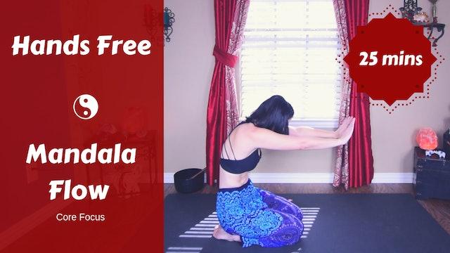 Hands Free Mandala Yoga Flow (Core)
