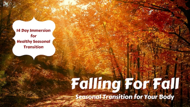 Falling For Fall | 14 Day Immersion for Change