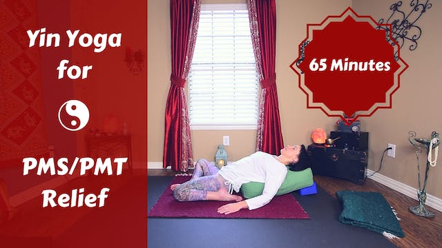 Yin Yoga for PMS PMT & Hormone Imbalance