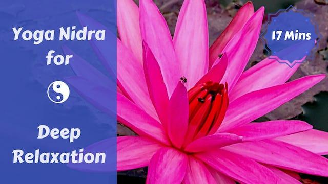 Yoga Nidra Body Scan for Deep Rest