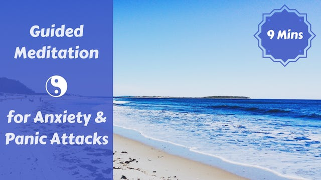 Meditation for Anxiety & Panic Attacks