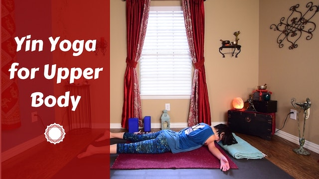 Yin Yoga for Upper Body {Golfers, Swimmers & Athletes}