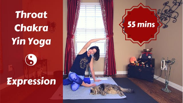Throat Chakra Yin Yoga | Expression &...