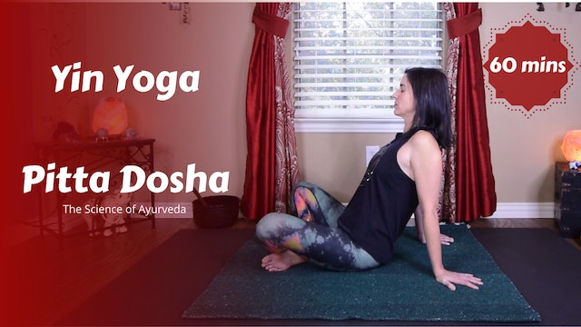 Yin Yoga for Pitta Dosha | The Science of Ayurveda