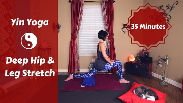 Yin AM for Quad, Leg & Hip Flexibility