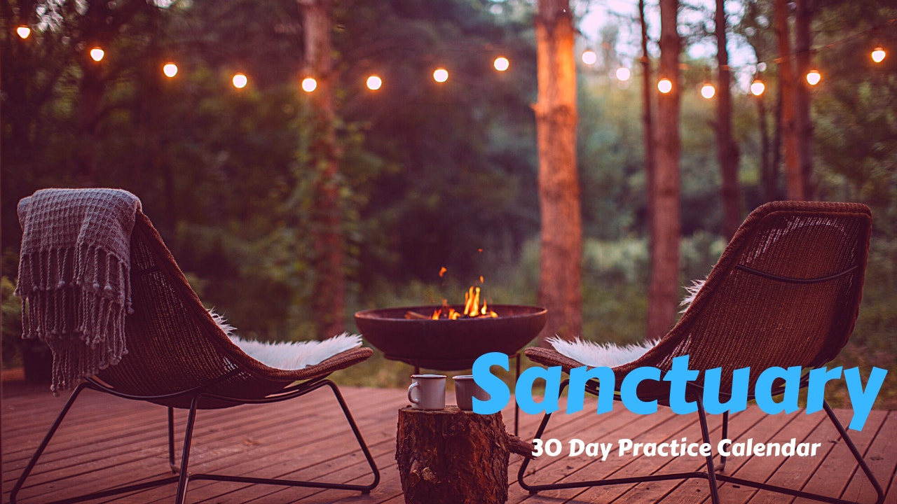 SANCTUARY | 30 Day Practice Calendar | Sept. '21