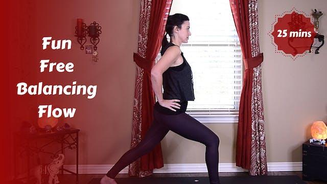 Fun Free Balancing Yoga Flow