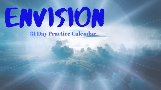 ENVISION | 31 Day Practice Calendar Aug '20