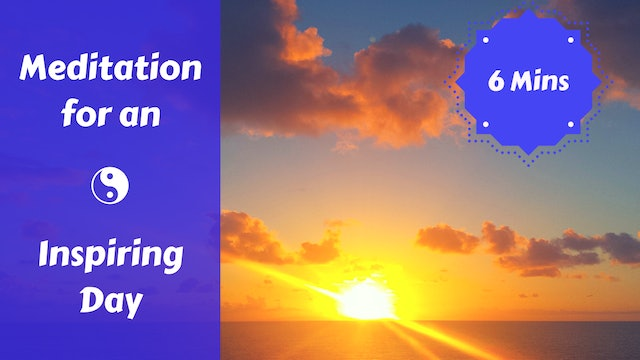Inspired Day Morning Meditation | Positive Affirmations for a Great Day!