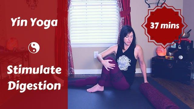Yin Yoga to Stimulate Digestion | Nou...